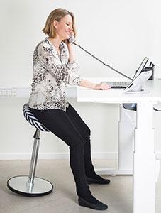 Få et aktivt arbejdsliv på kontoret