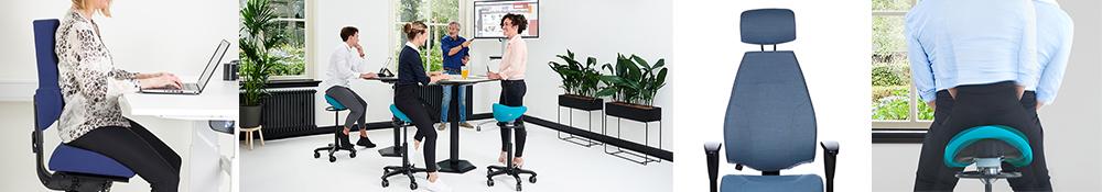 Ergonomiske kontorstole til kontor reception stole til at variere arbejdsstillingen i løbet af dagen
