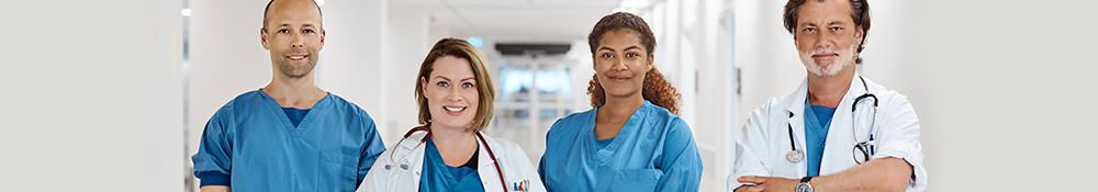 Hospital stole fra Ergotec ApS hospital stole til alle arbejdssituationer både til patienter, læge, sygeplejerske, kirurg, laboratorie