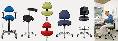 Forskellige arbejdsstole til forskellige funktioner