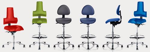Sadelstole til laboratorier