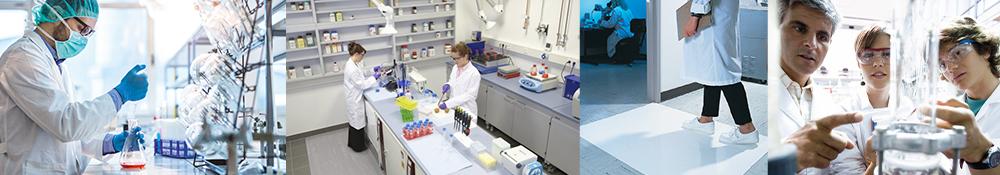 arbejdsmåtter til laboratorie og renrum