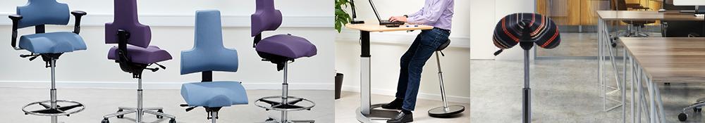 Skrankestole ergotec skrankestole med god ergonomisk korrekt siddekomfort
