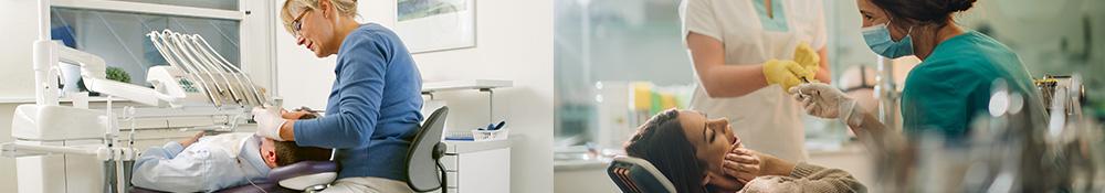 Stole til tandlæger, tandklinikker, skoletandpleje, tandpleje, tandlægeassistenter